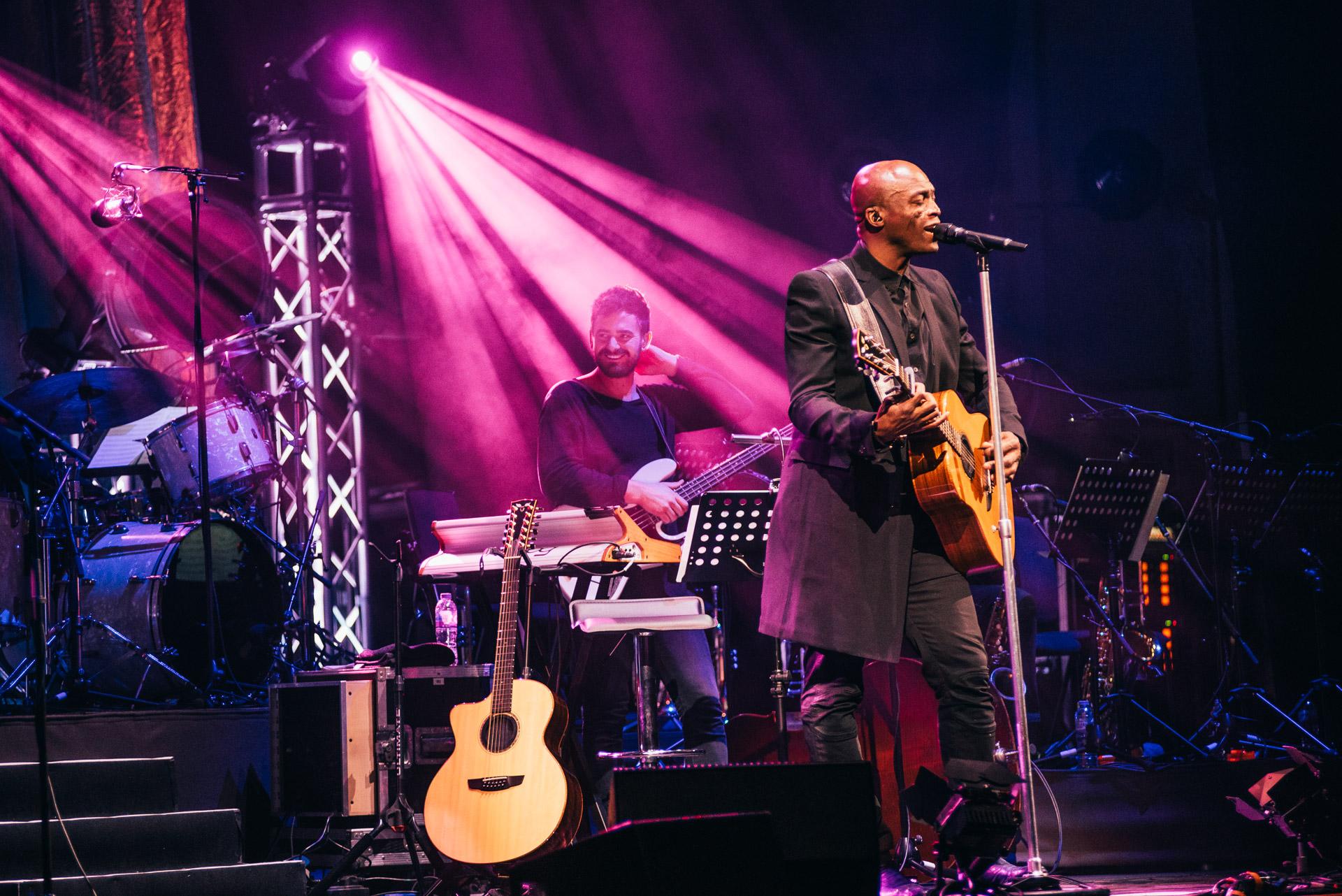 Seal live at Usher Hall