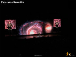Professor Brian Cox, Universal