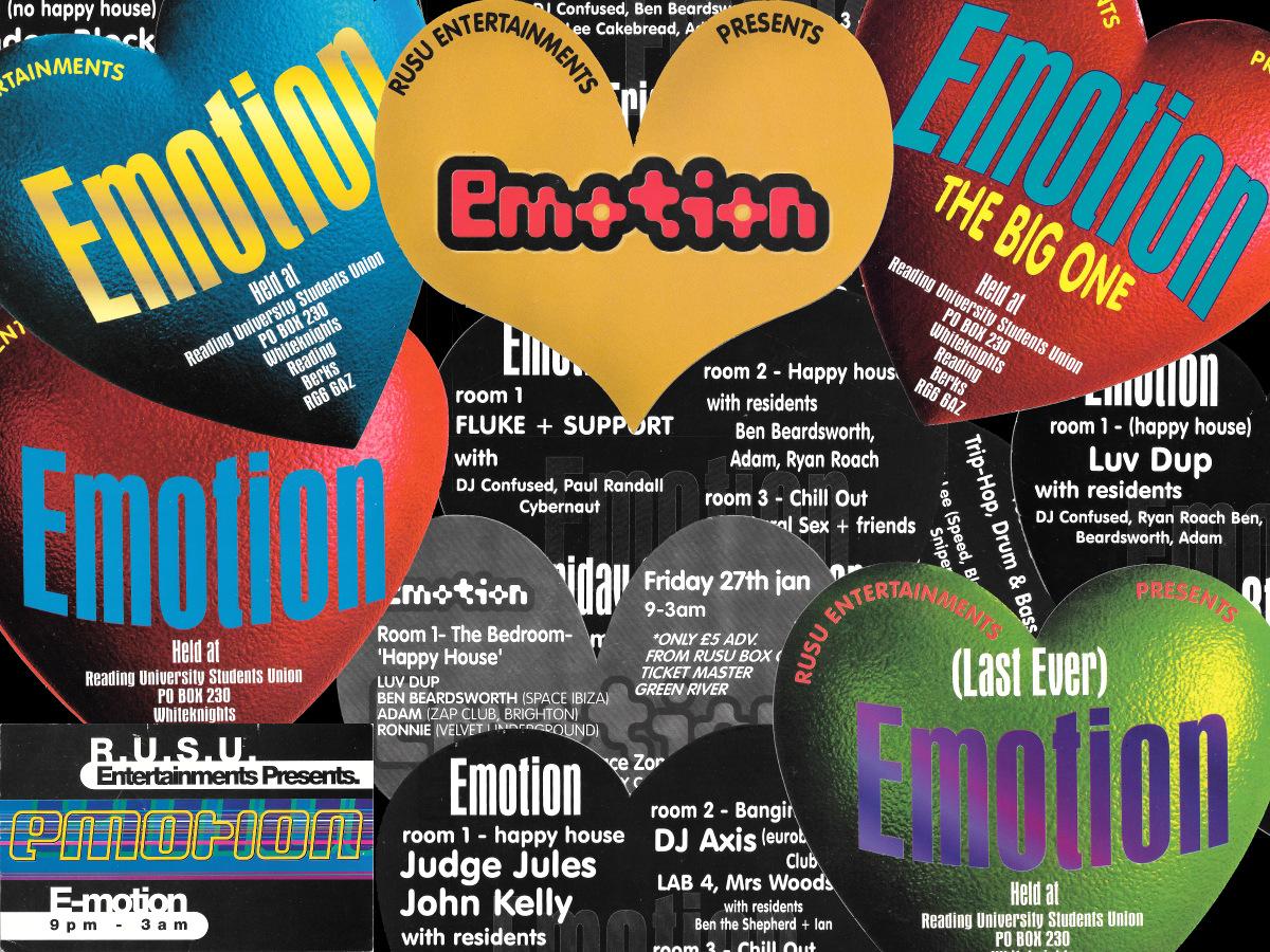 Emotion promotional designs